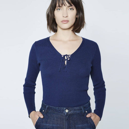 IKKS Laced Neck Sweater BK18365