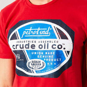 Petrol Industries Crude Oil T-Shirt M-1000-TSR607-3136