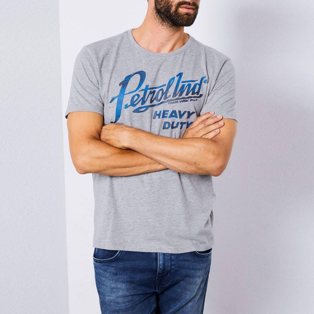 Petrol Industries Round Neck Logo T-Shirt
