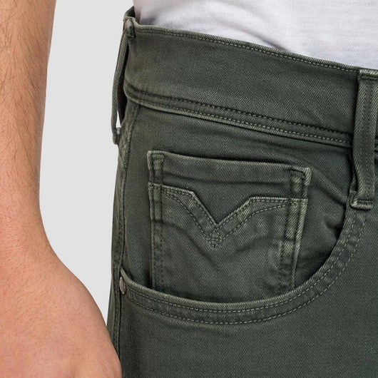 Replay Anbass Hyperflex Slim-Fit Jeans M914Y.000.8166197.030