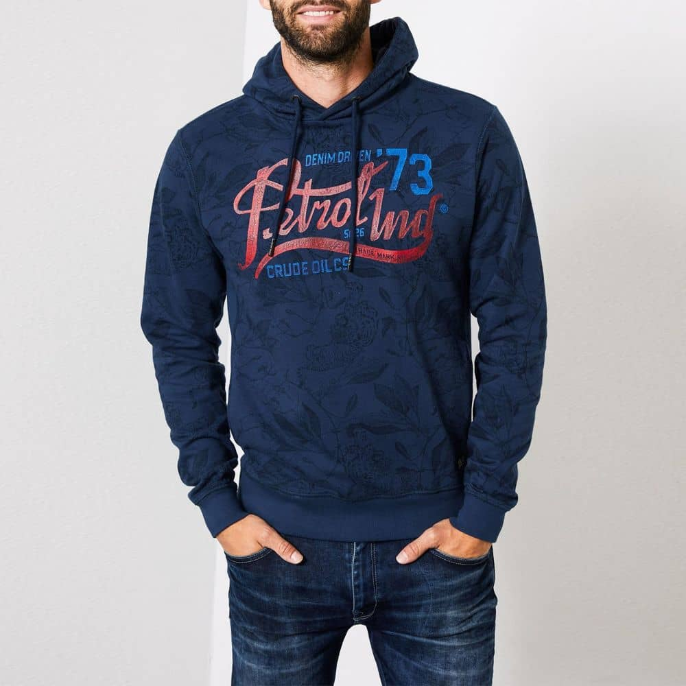 Petrol Industries Hooded Sweater