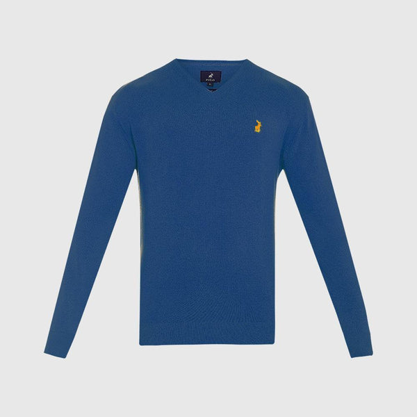 Polo V-Neck Plain Pull Over - 3rd Base Urban