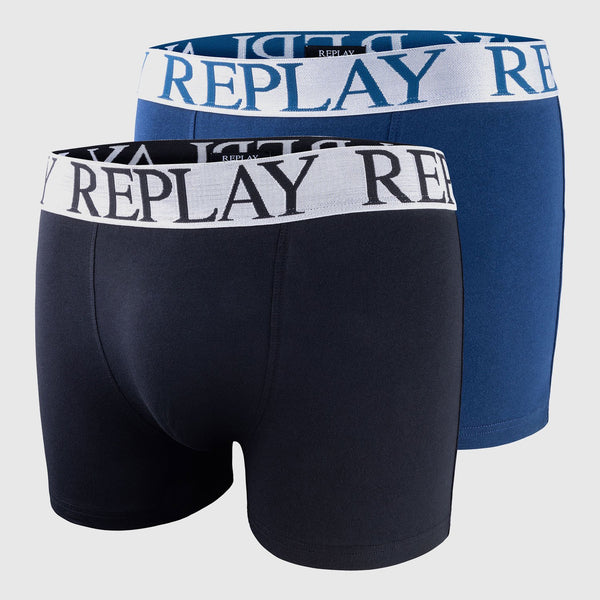 Replay Boxer 2-Pack Underwear - 3rd Base Urban