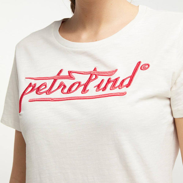 Petrol Industries Round Neck Logo Top W-1000-TSR415-0040