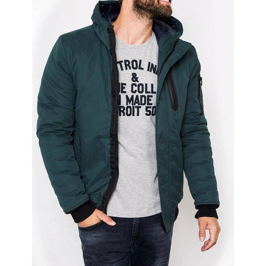 Petrol Industries Hooded Bomber Jacket M-3090-JAC117-6089
