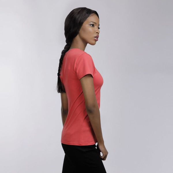 Polo Allie Crew Neck T-Shirt - 3rd Base Urban