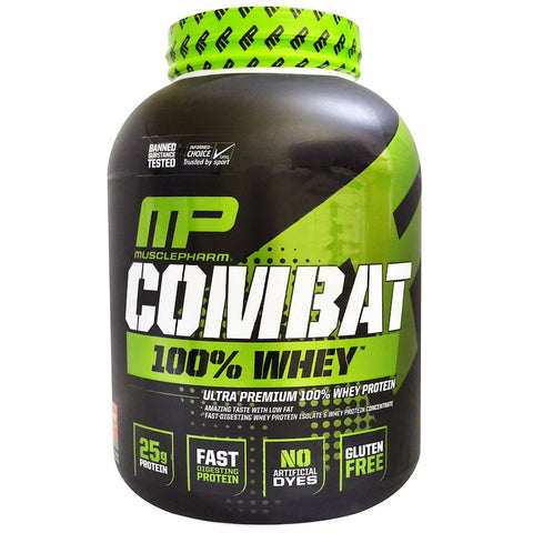 MusclePharm Combat 100% Whey Protein 5lb - Gym Freak Supplements