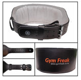 Leather Weight Lifting Belt - Gym Freak Supplements