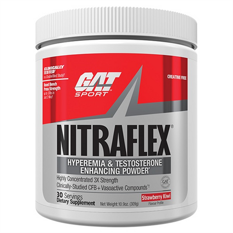 Gat Sport Nitraflex Pre Workout & Testosterone Formula - Gym Freak Supplements