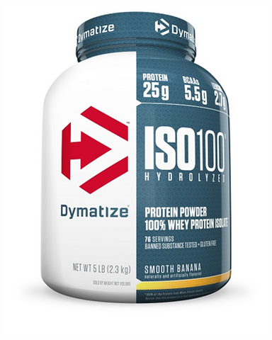 DYMATIZE ISO 100 5LB - [Gym Freak Supplements]