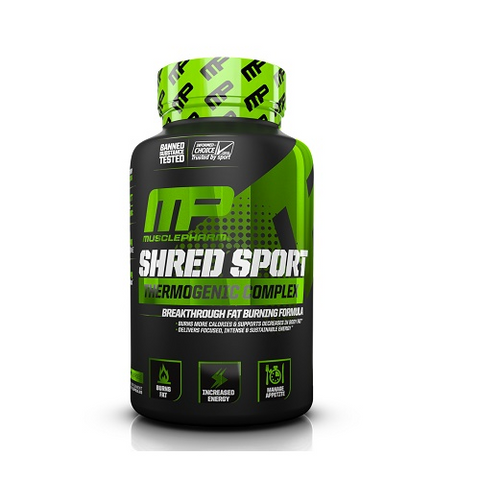 MusclePharm Shred Sport - Gym Freak Supplements
