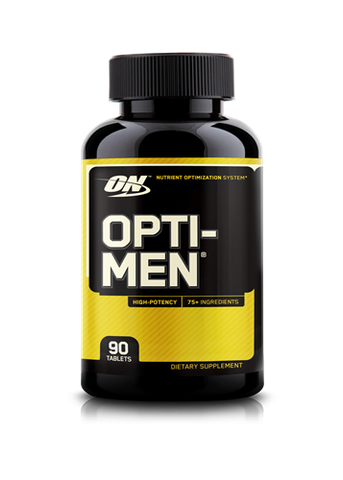 Optimum Nutrition Opti-Men 90 Tablets - Gym Freak Supplements