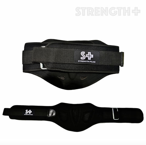Strength Plus LUMBER WEIGHT LIFTING BELT - [Gym Freak Supplements]
