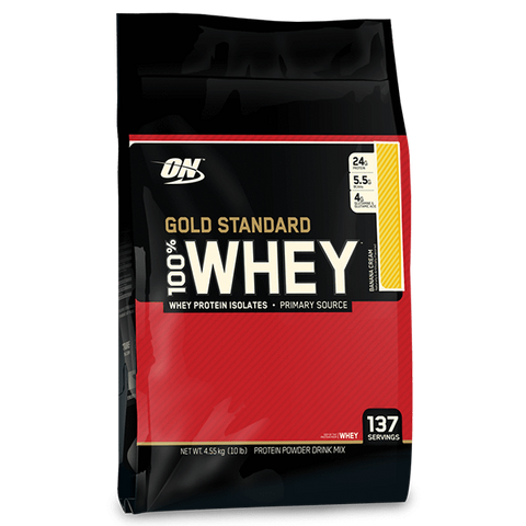 Gold Standard 100% Whey 10lb - Gym Freak Supplements