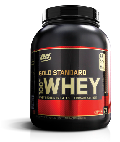 Gold Standard 100% Whey 5lb - [Gym Freak Supplements]