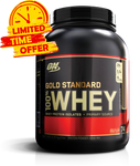 Gold Standard 100% Whey 5lb - Gym Freak Supplements