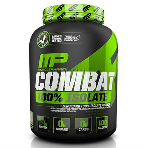MusclePharm Combat Isolate Zero - Gym Freak Supplements