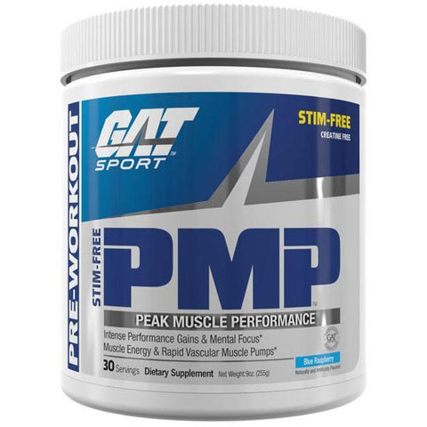 Gat Sport PMP Peak Muscle Performance Pre Workout 30serve - Gym Freak Supplements