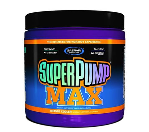 Super Pump MAX Pre Workout 30 Servings - Gym Freak Supplements