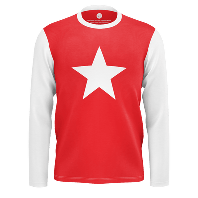 We Are Star Born Redstar RPET Long Sleeve