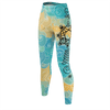 Electric Clouds Unalome Recycled Leggings