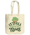 It's All About The Trees EarthAware Organic Spring Tote - natural
