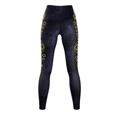 Cosmic Peace Unalome recycled Leggings