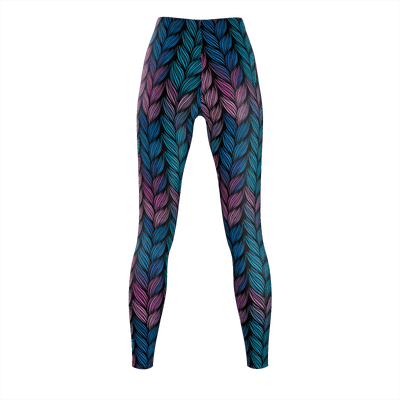 Braids of Change Recycled Leggings