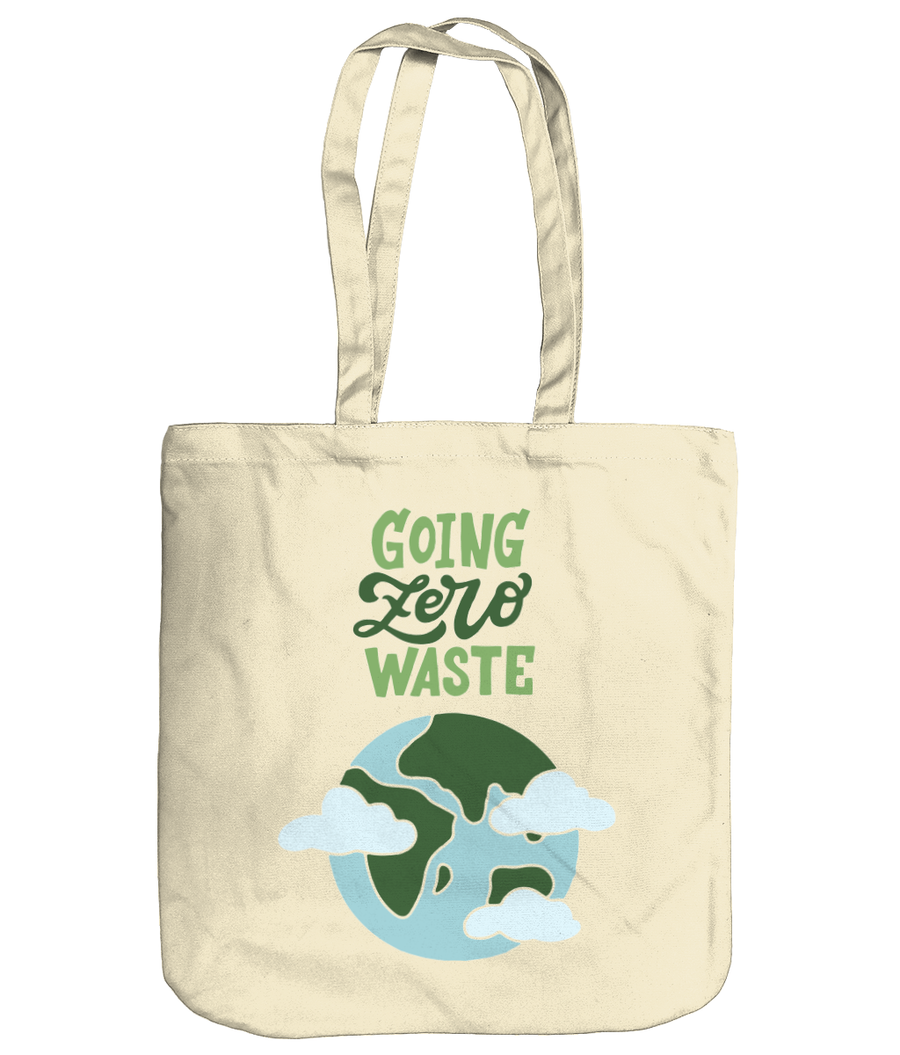 Going Zero Waste EarthAware Organic Spring Tote