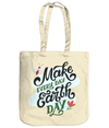 Make Every Day Earth Day EarthAware Organic Spring Tote - natural
