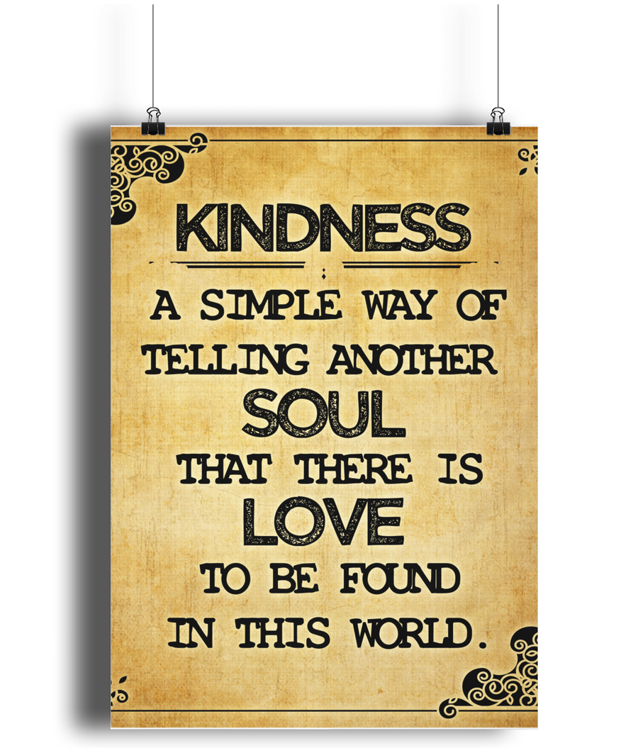 Kindness Is The Simple Way