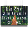 Time Spent With Nature - A4 Fine Art Bamboo Print