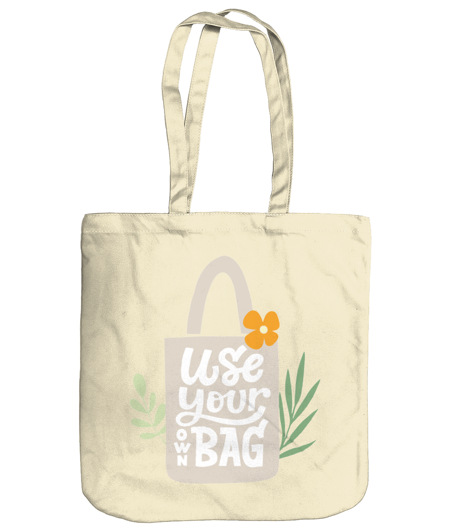Use Your Own Bag EarthAware Organic Spring Tote pastel blue