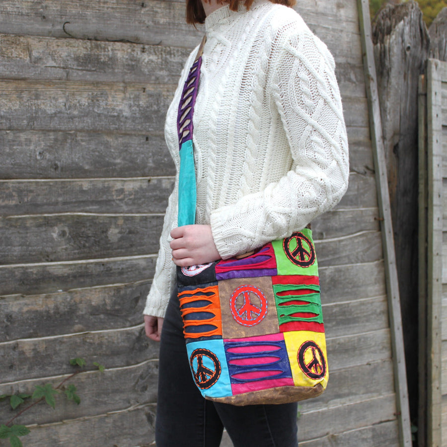 Peace Sling Bag - Fair Trade