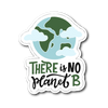 There Is NO Planet B Die Cut Vinyl Sticker