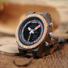 Antique Mixed Wooden Watches