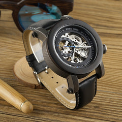 EK10 Bamboo Wooden Automatic Mechanical