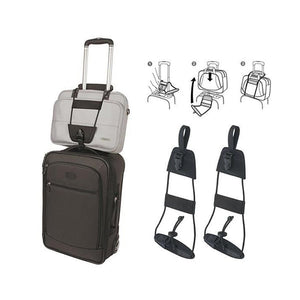 2 Pack Easy Travel Bag/Luggage Bungee