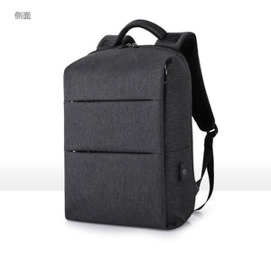 New Men Backpack For 15.6 inches Laptop Backpack Large Capacity Stundet Backpack Casual Style Bag Water Repellent