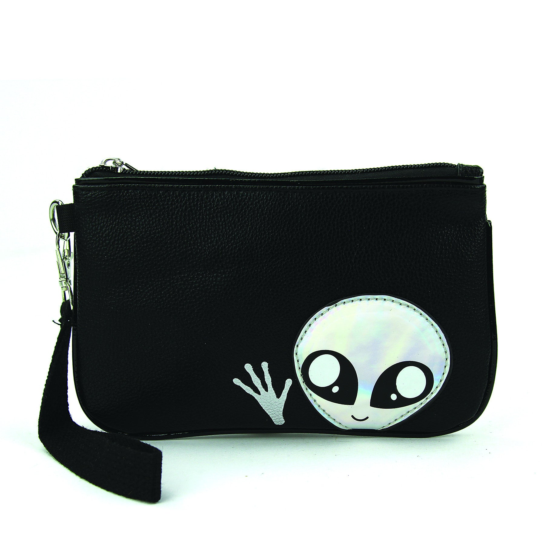 Sleepyville Critters - Friendly Alien Wristlet in Vinyl