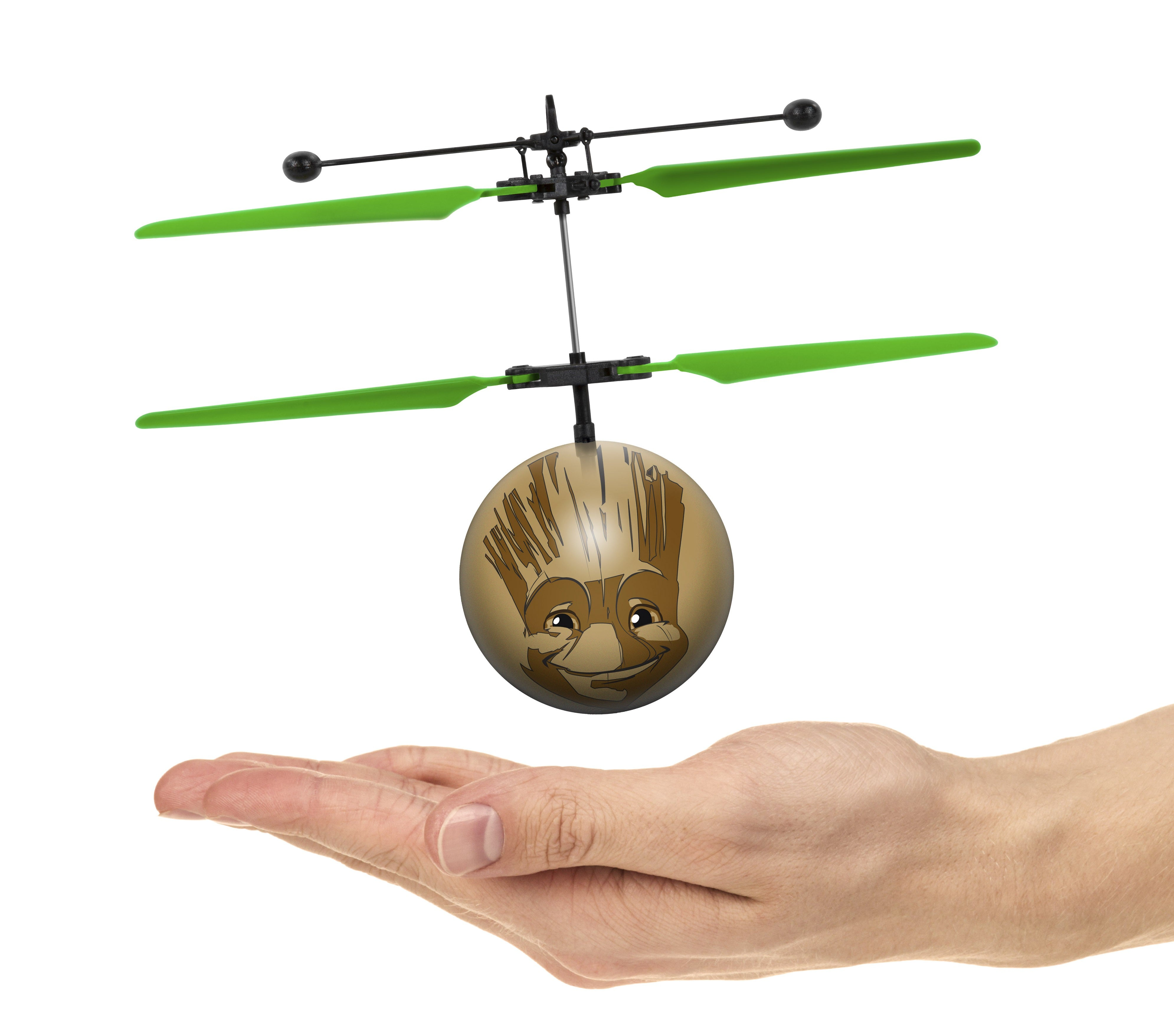 Marvel Licensed Marvel Guardians of the Galaxy Baby Groot IR UFO Ball Helicopter