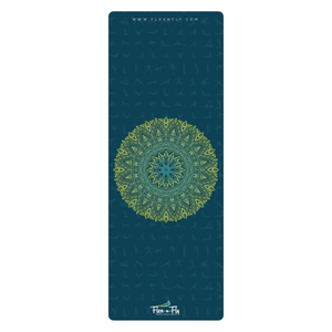 Blue Rise Travel Yoga Mat