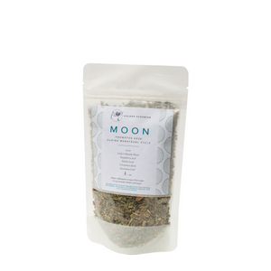 Moon Herbal Organic Tea: Promotes Ease During Menstrual Cycle