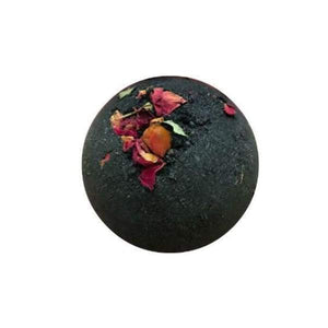 Bamboo & Charcoal Bath Bomb - Bath Bomb All-Natural apolo bath time Black and Green Black and GRN