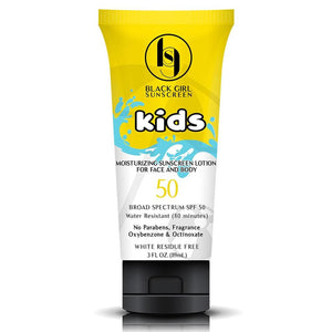 Black Girl Sunscreen Kids SPF 50 - Sunscreen kids sunscreen