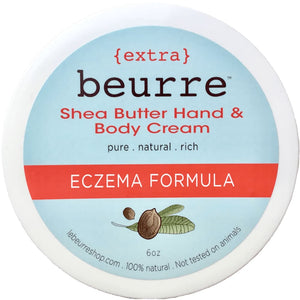 Extra Shea Butter Eczema Cream - Body Butter All-Natural apolo Black and Green Black and GRN black owned beauty brands