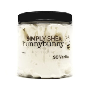 Simply Shea So Vanilla Whipped Body Butter