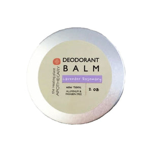 Natural Deodorant Balm - Lavender - Deodorant All-Natural apolo Black and Green Black and GRN black owned beauty brands