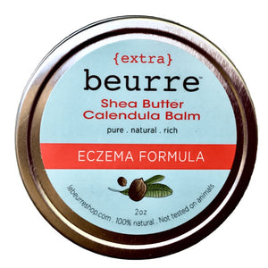 Shea Butter Eczema Calendula Balm - Body Butter All-Natural apolo Black and Green Black and GRN black owned beauty brands