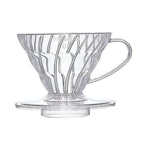 Hario V60 Dripper - Clear Plastic 1 Cup